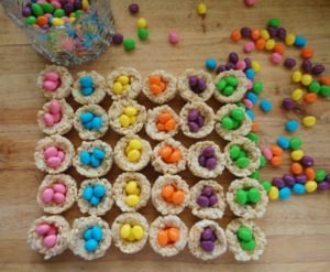 Easter Egg Rice Krispy Nests Delicious Fun For The Family
