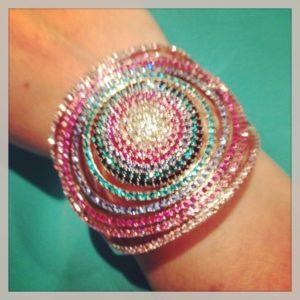 Swarovski Colorful Bracelet