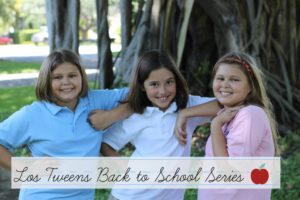 Los Tweens Back to School Series