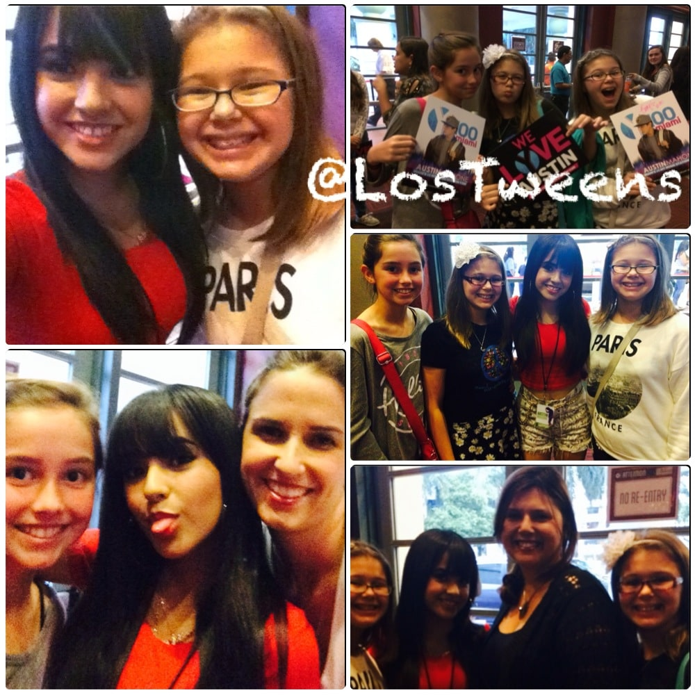 Becky G Meet and Greet Collage