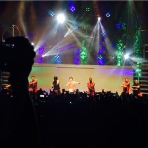 Austin Mahone Performing in Miami