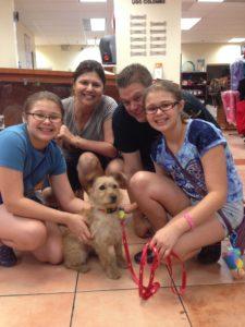Family Adoption at Humane Society