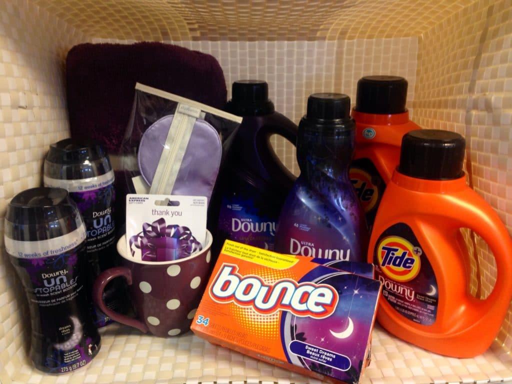 Downy Laundry Winner Prize