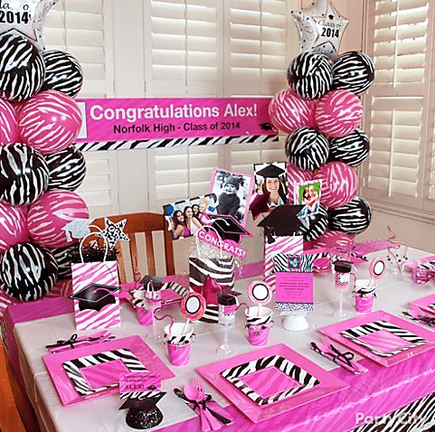 Easy and fun graduation party themes for 8th grade graduation decoration ideas