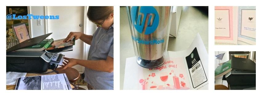 HP 5530 Printer & Tweens