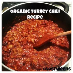 Organic Turkey Chili