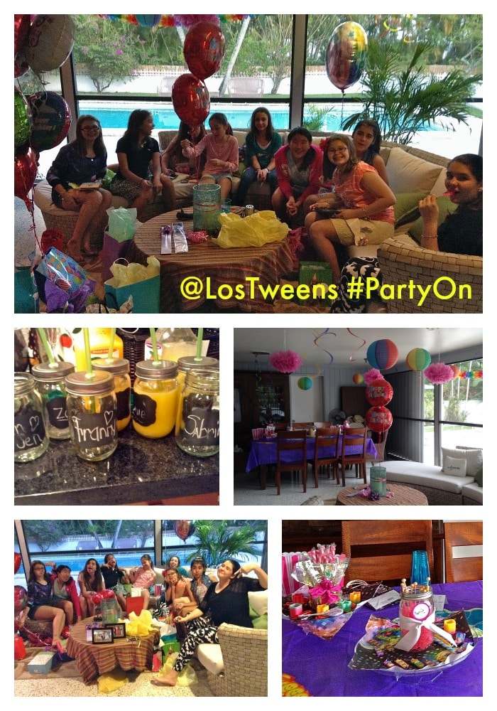 Party On Tweens Collage