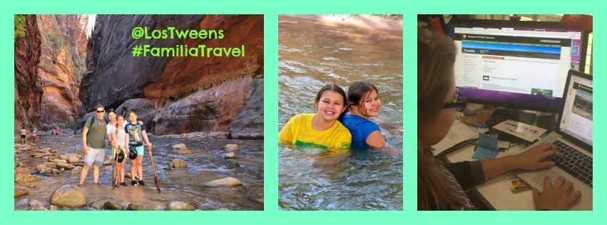 Los Tweens Summer Travel Tips