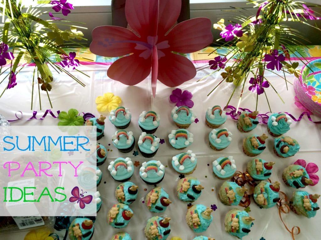 Summer Party Ideas Photo