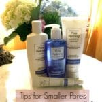 Tips for Smaller Pores
