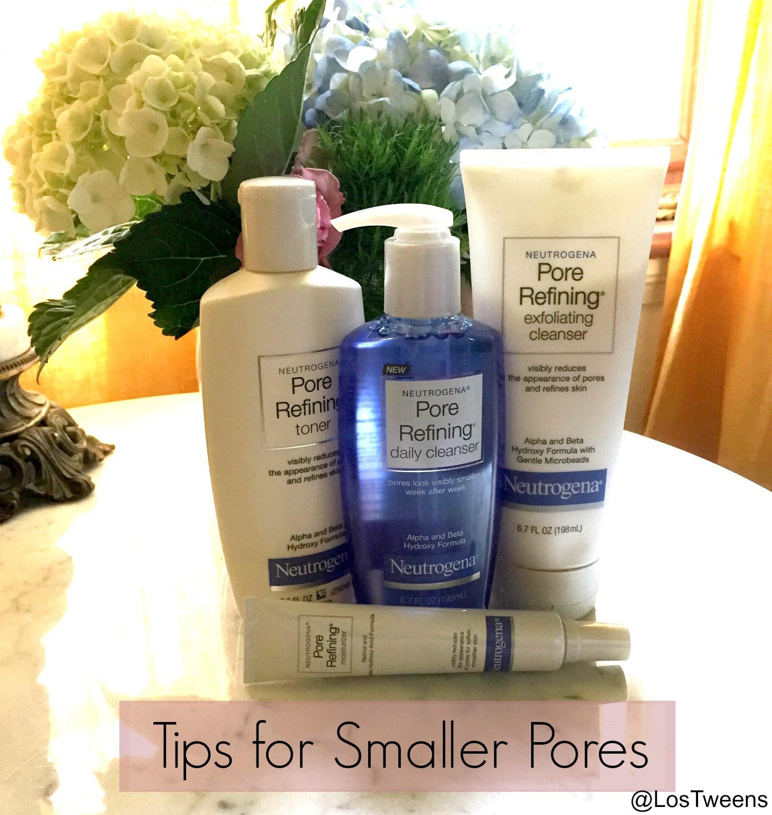 Tips for Smaller Pores