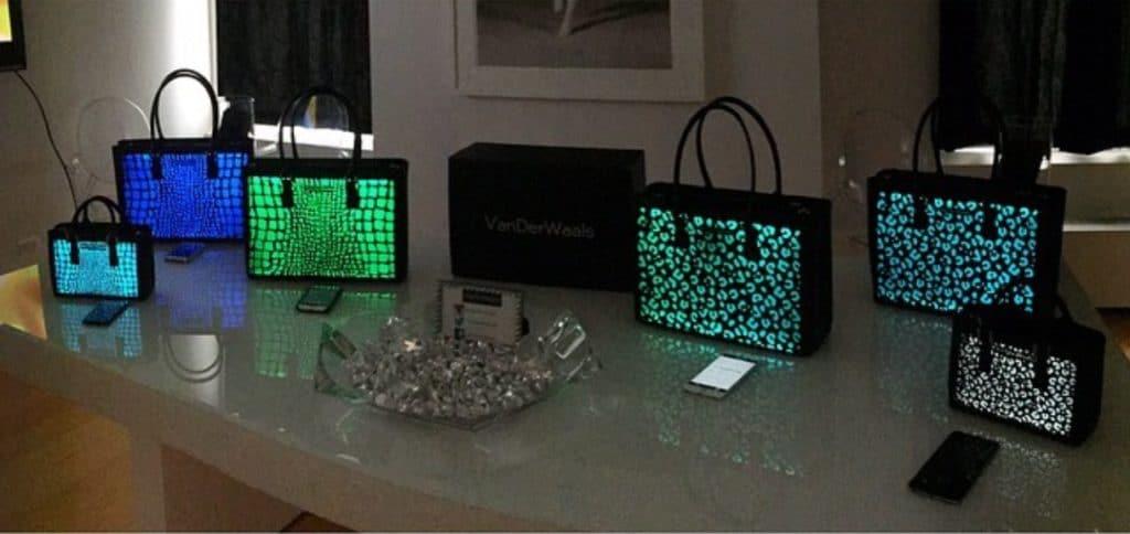 VanDerWaals bags in press preview