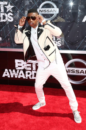 Recording artist Silento, 17  (Photo by Frederick M. Brown/Getty Images for BET)