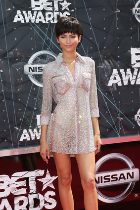 Actress Zendaya (Photo by Frederick M. Brown/Getty Images for BET)