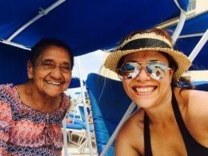 mi abuelita, Lety, y yo