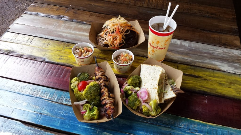 """Animal Kingdom's """"Harambe Market"""" offers a variety of dining options"""