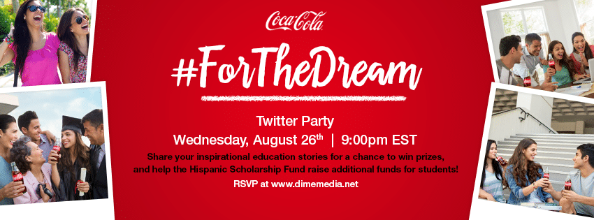 Coca-Cola For The Dream Twitter Party Creative