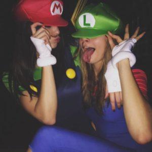 Kylie Janner and Cara Delevingne