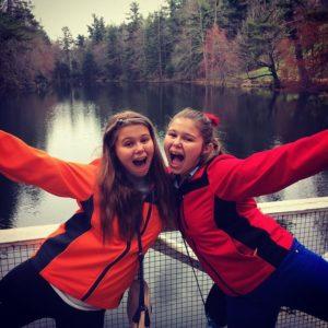 The teen twin daughters of Los Tweens & Teens publisher, Cristy