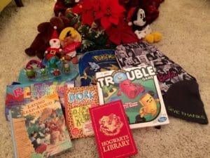 Toys and books that inspire creativity make great holiday donations for tweens and teens.