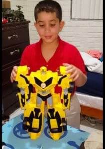 Transformer-like toys are always a fave among tween boys.