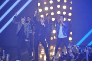 """La Banda"" contestants had the opportunity to perform with Latin superstar, Pitbull, in the semi-finals."