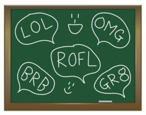 teen slangs and acronyms