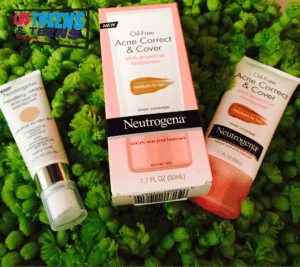 Neutrogena includes an array of products specifically created to cover & correct acne.