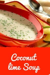 Coconut Lime Soup