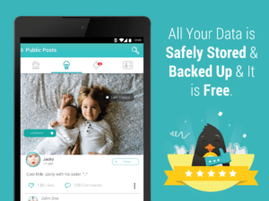 First Smile is great for saving baby memories, as well as tweens & teens'...and is FREE!