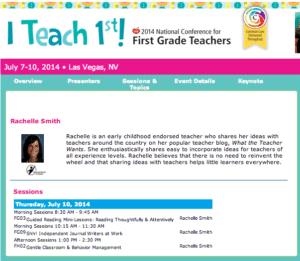 I Teach 1st