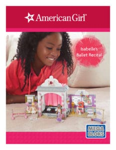 """The Mega Bloks American Girl products are currently available exclusively at Toys """"R"""" Us in the U.S. and Canada and will expand into other U.S.- and Canada-based mass retailers starting July 1, 2016."""
