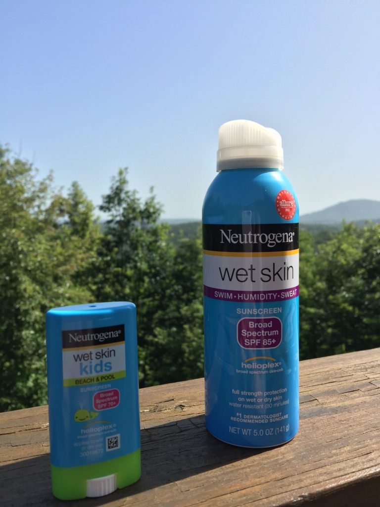 Neutrogena Wek Skin Sunscreen Wet Kids Lotion