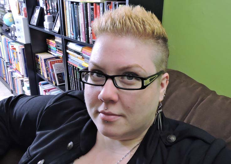 young adult author, M.E. Girard