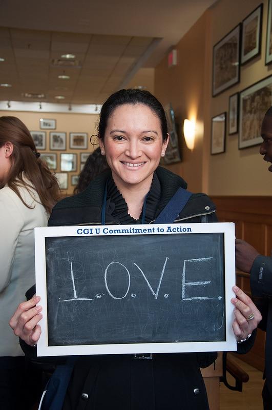 Claudia Espinoza, founder of L.O.V.E Mentoring Program for Young Latinas in NYC.