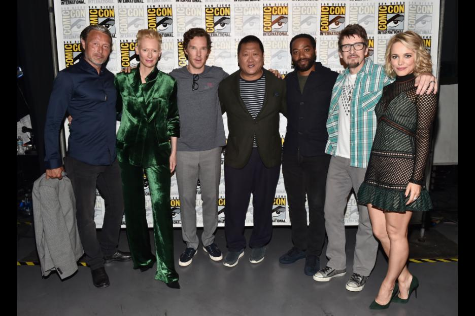 "Marvel Studios' ""Doctor Strange"" stars Benedict Cumberbatch (""The Imitation Game,"" ""Black Mass""), Chiwetel Ejiofor (""12 Years a Slave,"" ""Triple 9""), Rachel McAdams(""Spotlight,"" ""Southpaw""), Benedict Wong (""The Martian,"" ""Prometheus""), Michael Stuhlbarg (""A Serious Man,"" ""Jobs""), Benjamin Bratt (""Traffic,"" ""Piñero"") and Scott Adkins (""El Gringo,"" ""Expendables 2""), with Mads Mikkelsen (""The Hunt,"" ""Casino Royale"") and Academy Award® winner Tilda Swinton (""Michael Clayton,"" ""Julia"")."