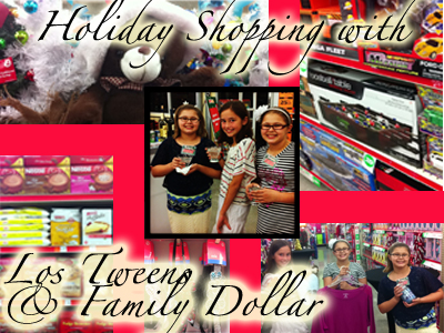 Shopping] Teaching Tweens How to do Holiday Shopping on a Budget -