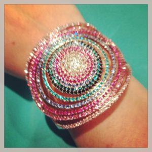 Swarovski Colorful Bracelet