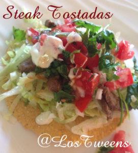 Steak Tostadas