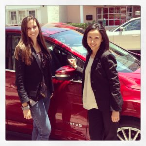 Katherine, Patricia and the Ford C-Max