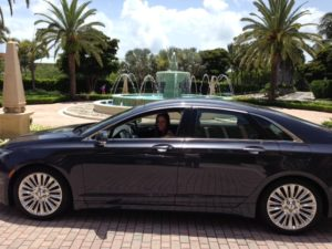 Lincoln MKZ at Ritz Key Biscayne