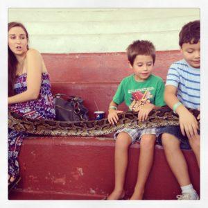 Python at Jungle Island