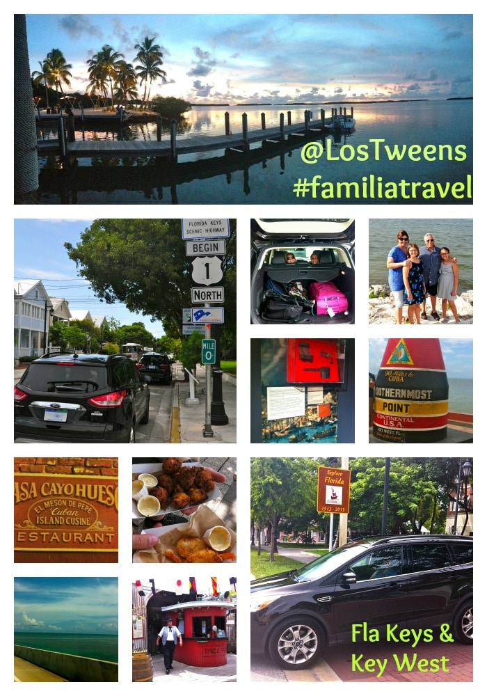 Los Tweens #FamiliaTravel Key West