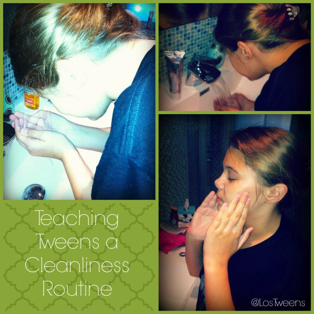 Teaching Tweens a Cleanliness Routine