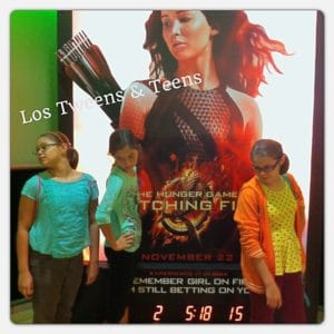 Tweens Create their Own Katniss look at Catching Fire Miami premiere