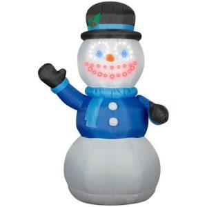 snowman with lighsync