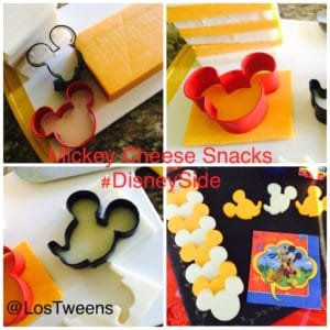 Disney party cheese