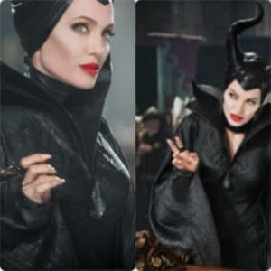 Angelina Jolie Maleficent Louboutin Manicure