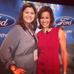NBC Today Show Host Jenna Wolfe speaks at Ford Trends Conference