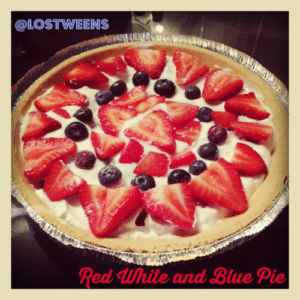 Red White and Blue Pie Recipe